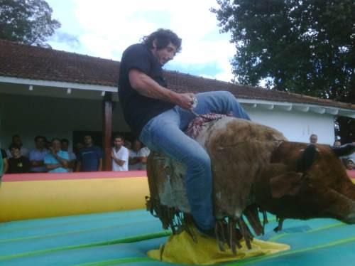 mecanico inflables alquiler toro