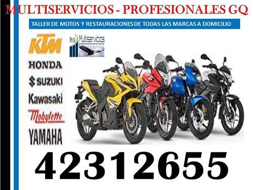 mecánicos y electromecánicos de motos a domicilio