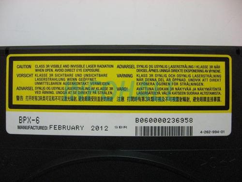 mecanismo bluray bpx-6 unidade óptica home sony bdp-s580