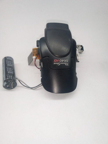 mecanismo de flash completo com flash da camera canon sx40hs