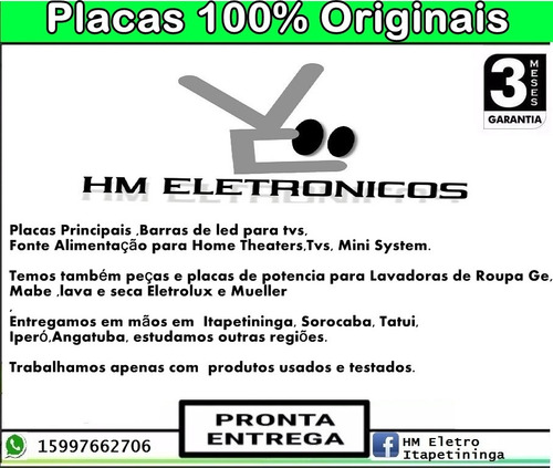 mecanismo do home hts3520x/78 philips (usado)