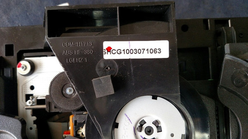 mecanismo lg modular 3 discos s/laser