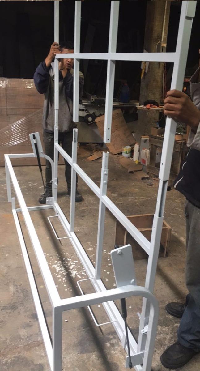 Mecanismo para base de cama abatible a muro elevable - Mecanismo para camas abatibles ...
