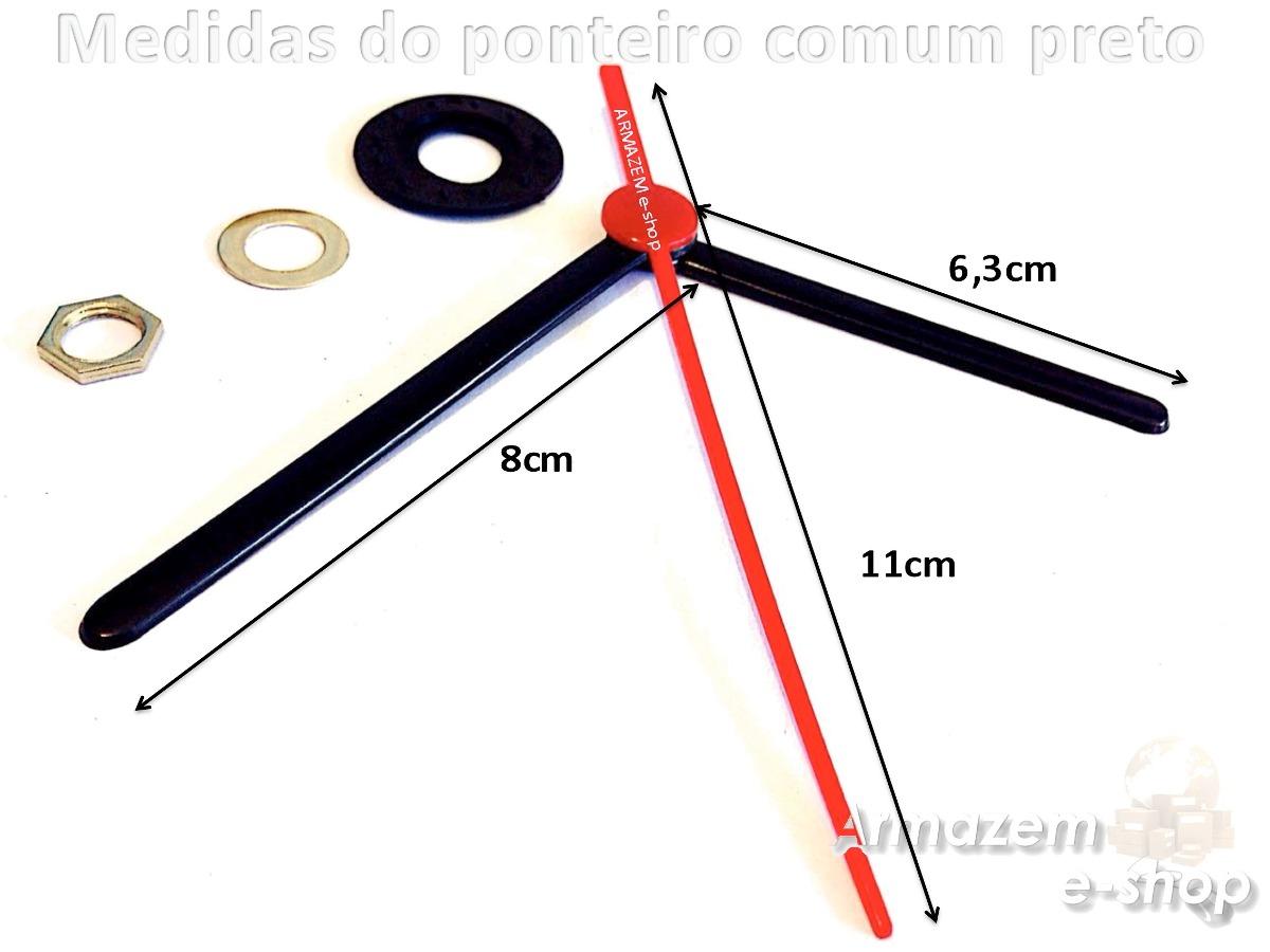 a1b4824d02a mecanismo para relógio quartz eixo 13mm completo c  ponteiro. Carregando  zoom.