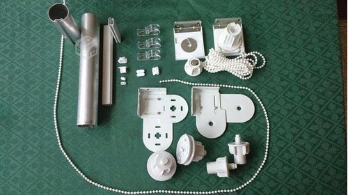 mecanismo roller 2 mts comp. barral soportes zocalo cadena