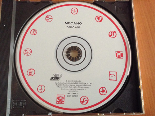 mecano aidalai cd  album