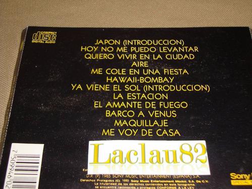 mecano en concierto 1993 epic cd