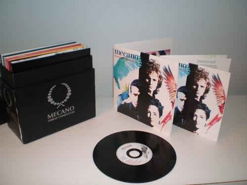 mecano - obras completas box set edición limitada numerada