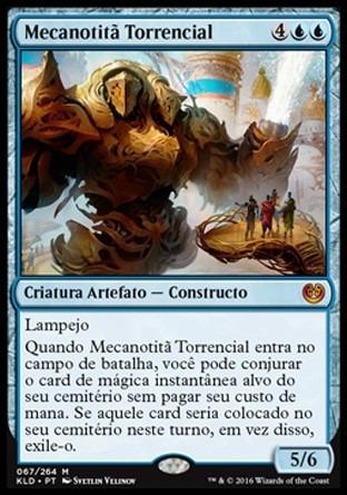 mecanotitã torrencial / torrential gearhulk - kaladesh