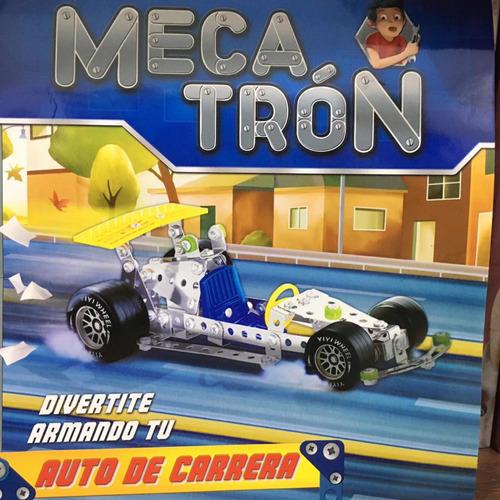 mecatrón - mecano - auto de carreras - colección la nación