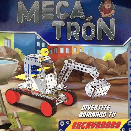mecatrón - mecano - excavadora - colección la nación