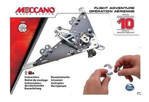 meccano 10 variantes montaje surtido