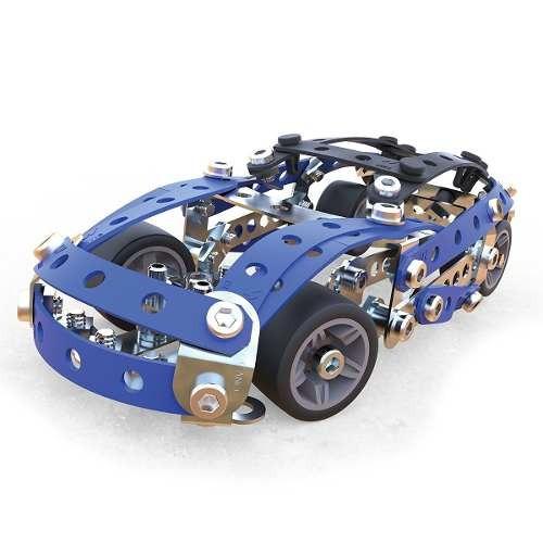 meccano 5 model building set - coches de carreras, 164!