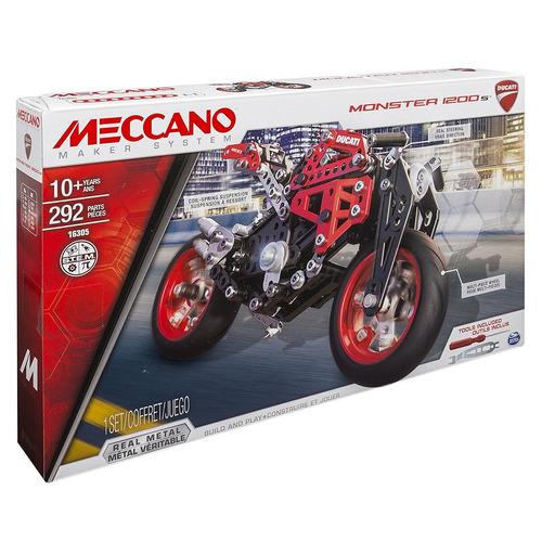 meccano-erector, ducati monster 1200s