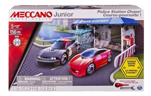 meccano estacion de policia 156 piezas construc educando