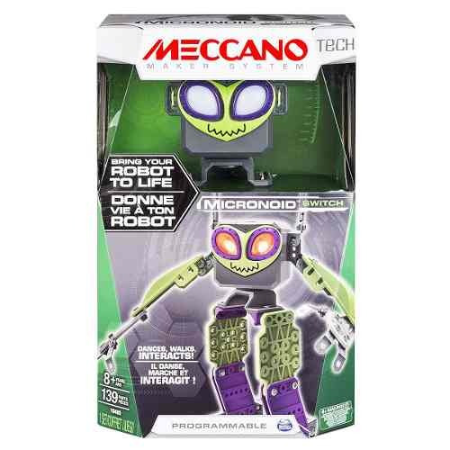meccano micronoid green switch compreonline!