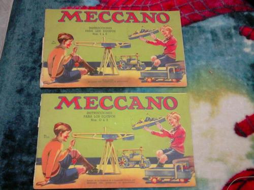 meccano original inglés 1939