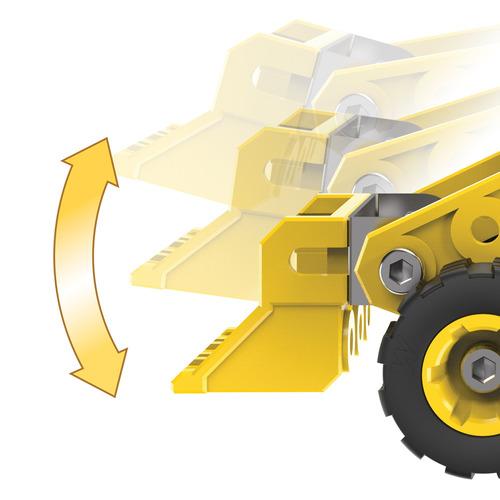 meccanomodelo bulldozer s.t.e.m kit de construcción co