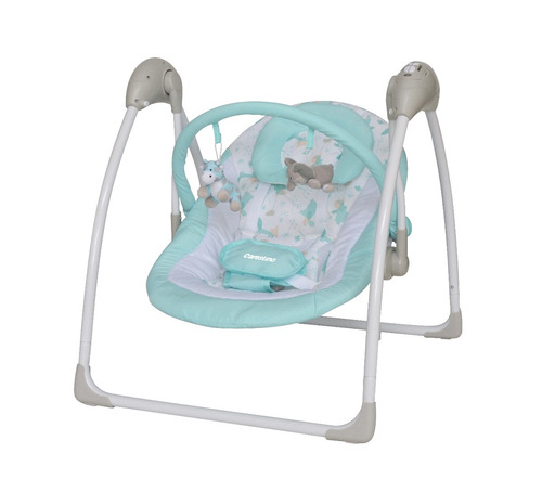 mecedor electrónico bebe carestino con melodias