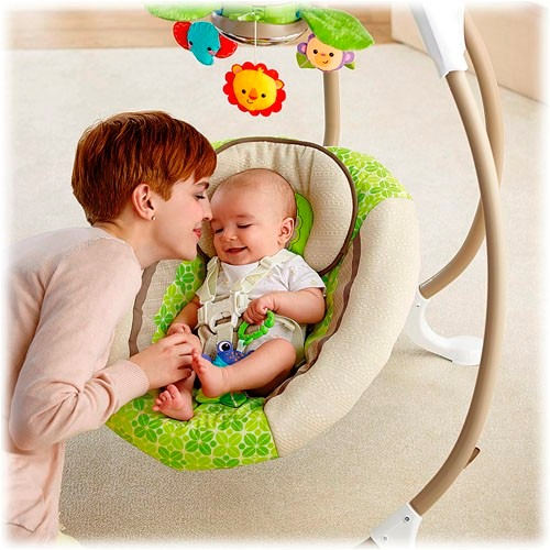 Fisher price rainforest cradle silla mecedora bebe 629 - Mecedora ninos ...