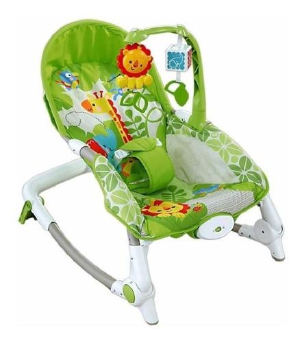 mecedora bouncer leon - silla 2 en 1 bebe bebes