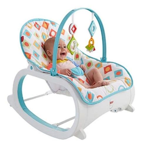 mecedora fisher price para bebés niño nuevo en caja