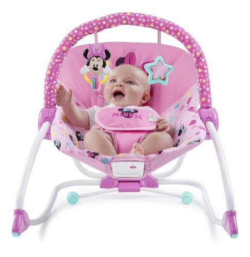 mecedora para bebé disney baby, diseño minnie mouse
