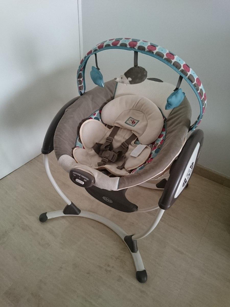 mecedora para beb s graco glider lx bs en