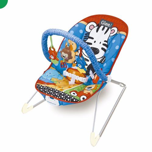 mecedora relax bebes glee a8104 chair azul sonido con musica