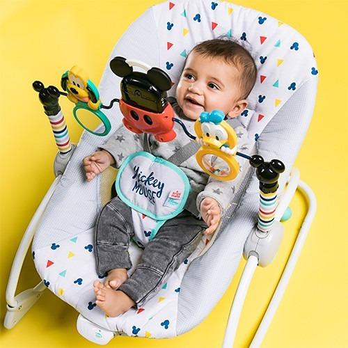 870871066 Mecedora Vibradora Bebe Disney Mickey Bright Starts 10327 - $ 5.618 ...