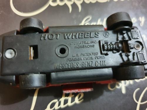 mecerdes benz hotwheels vintage