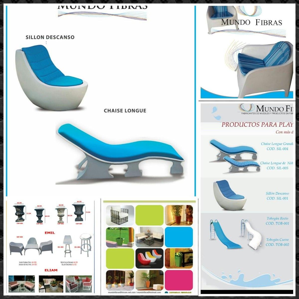 Meceteros y muebles en fibra de vidrio 5 en for Muebles de fibra de vidrio