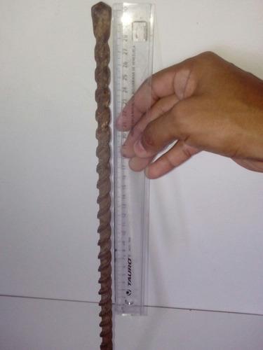 mecha broca hilti alemana 5/8 33cm concreto