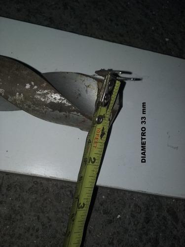 mecha concreto diametro 33 milimetros  x l = 37,50 cm