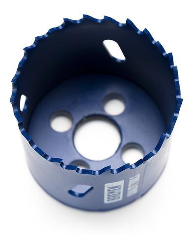 mecha copa madera metal plastico bremen 73 mm sierra bimetal cod. 5982 dgm