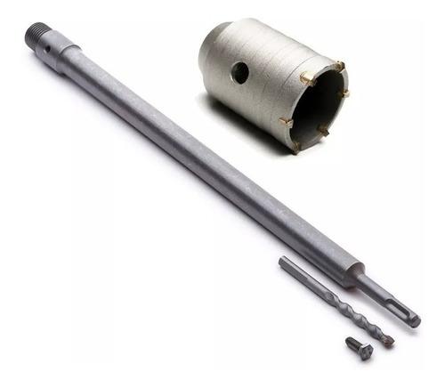mecha copa pared bremen® 65 mm+ soporte 430mm set aire acond
