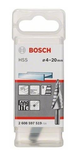 mecha escalonada bosch 4 a 20 mm 9 medidas 2608597519