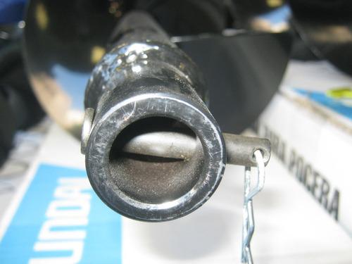 mecha helicoidal p/pocera 20cm x 80cm hyundai herracor
