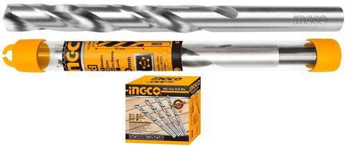 mecha industrial 10mm hss metal ingco en tubo plastico-pa
