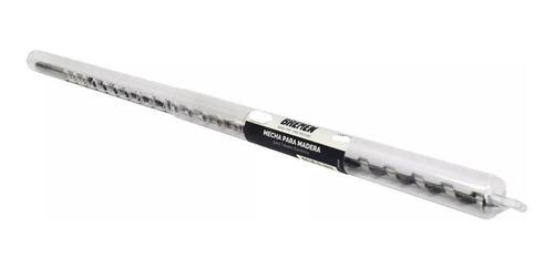 mecha para madera helicoidal 8 mm largo 457 mm bremen® 6429