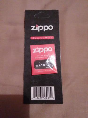 mechas original para yesquero zippo de 100mm y otra de 115mm