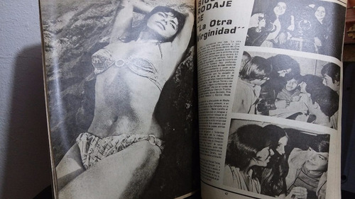 meche carreño revista cinelandia 13 julio 1974