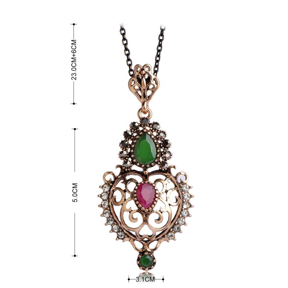 9471bbec792a Cargando zoom... mechosen turco vintage conjuntos de joyas collar pendientes