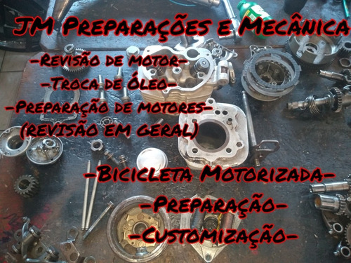 mecânica de moto,bike motorizada