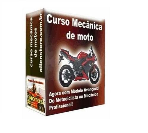 mecânica de motos e injeção eletrônica 56 dvds m