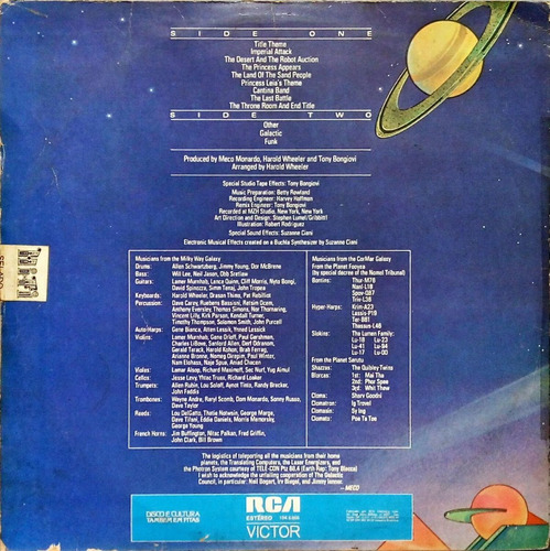 meco lp 1977 star wars and other galactic funk by meco 14341