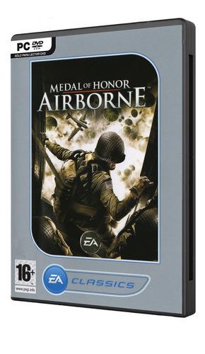 medal of honor airborne classic juego pc original fisico