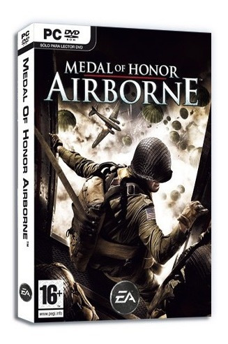 medal of honor airborne videojuego pc original dvd box
