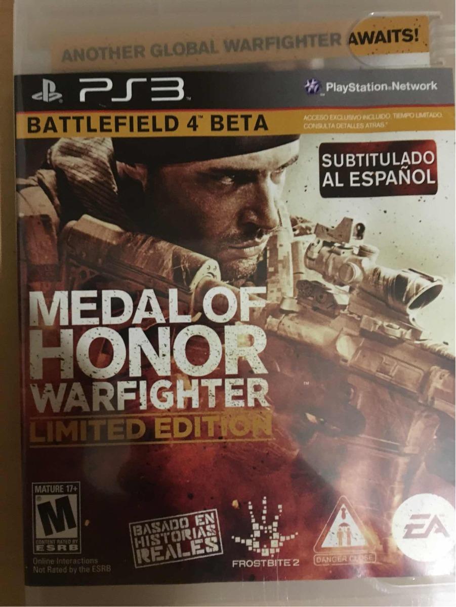 Medal Of Honor Battlefield 4 Pes 3 Midia Fisica Novo