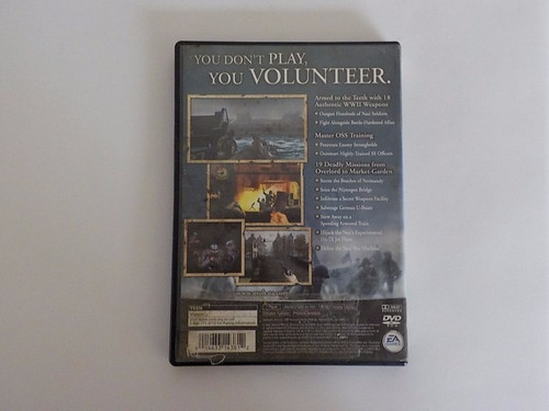 medal of honor frontline ps2 play station 2 game reaktor
